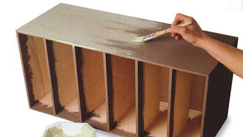 Как своими руками поменять цвет мебели из