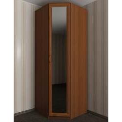 однодверный угловой шкаф в спальню