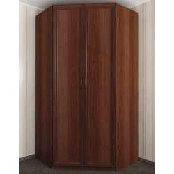 шкаф угловой с распашными дверями в коридор