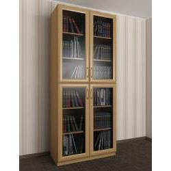 2-дверный шкаф для книг