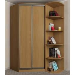 2-дверный угловой шкаф в спальню