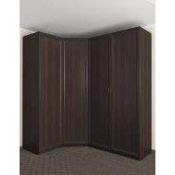 распашной угловой шкаф для одежды