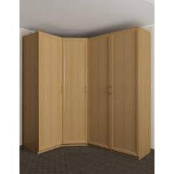 модульный угловой шкаф для одежды