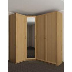 модульный угловой шкаф в спальню