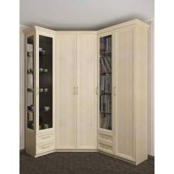 широкий угловой шкаф