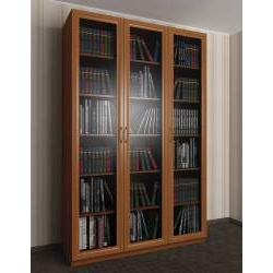3-створчатый книжный шкаф