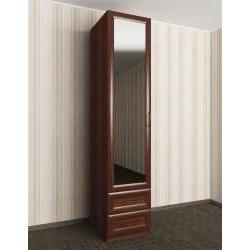 1-дверный шкаф с зеркалом