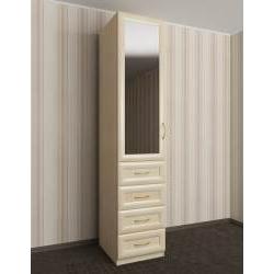 шкаф для одежды с зеркалом в спальню