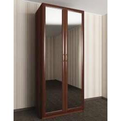 2-створчатый шкаф с распашными дверцами в спальню