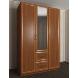 шкаф для одежды в прихожую с выдвижными ящиками