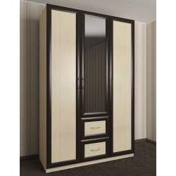 шкаф для одежды в прихожую с зеркалом
