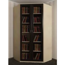 шкаф угловой для книг