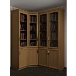 4-дверный шкаф угловой