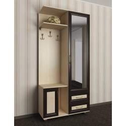 мебель в прихожую с зеркальной дверью