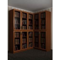 модульный угловой шкаф в зал