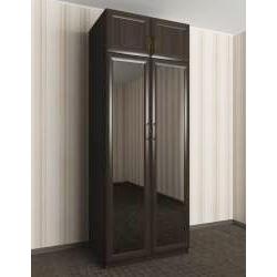 платяной шкаф цвета темный венге