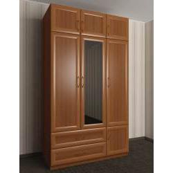 шкаф для одежды и белья с ящиками