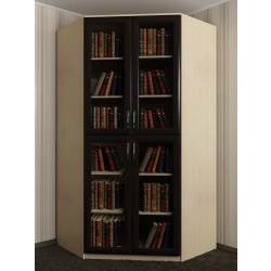 узкий шкаф угловой