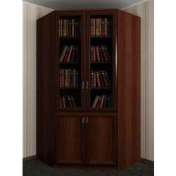 2-дверный угловой шкаф в кабинет