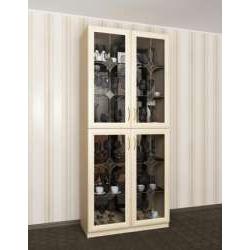 2-дверный шкаф-витрина