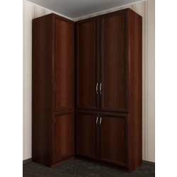 модульный шкаф угловой в коридор