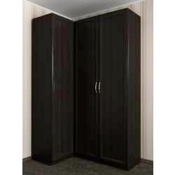 3-створчатый распашной угловой шкаф
