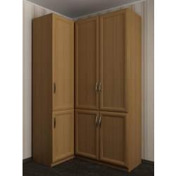3-дверный шкаф угловой в коридор