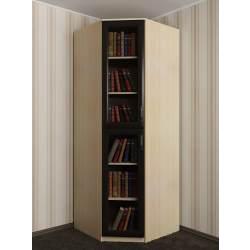угловой шкаф под книги