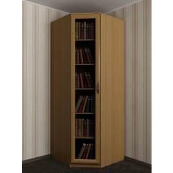 распашной угловой шкаф для книг