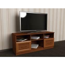тумба под телевизор цвета ольха
