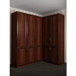 большой угловой шкаф в коридор
