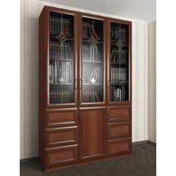 шкаф для книг шириной 120-135 см