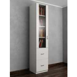 книжный шкаф с ящиками