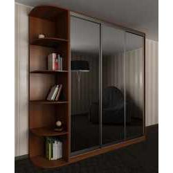 3-дверный шкаф с раздвижными дверями