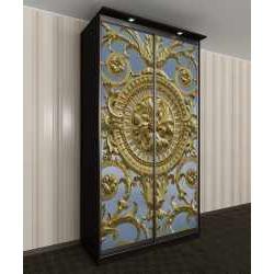 шкаф с раздвижными дверями с подсветкой