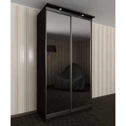 двухстворчатый шкаф с раздвижными дверями для спальни