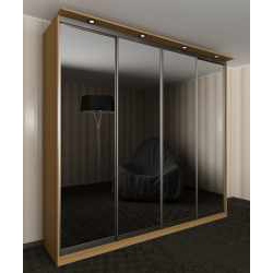 шкаф купе с зеркалом шириной 160-180 см