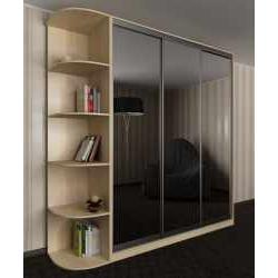 3-створчатый шкаф с раздвижными дверями