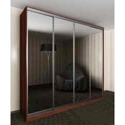 4-створчатый шкаф с раздвижными дверями