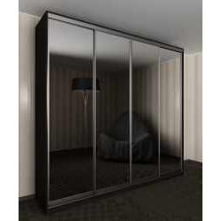 шкаф с раздвижными дверями для спальни шириной 160-180 см
