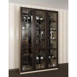 витражный шкаф-витрина