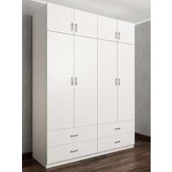 шкаф цвета белый