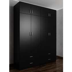 шкаф цвета черный