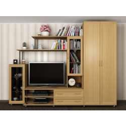 мебельная стенка со шкафом в спальню