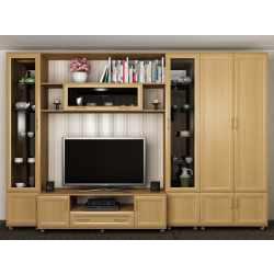 мебельная стенка в зал со шкафом