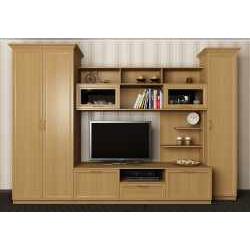 мебельная стенка в кабинет со шкафом