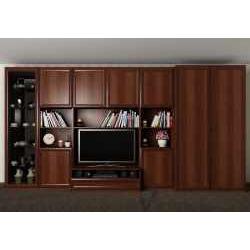 мебельная стенка цвета итальянский орех