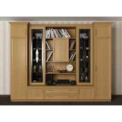 витражная мебельная стенка в кабинет