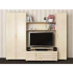 мебельная стенка цвета молочный беленый дуб