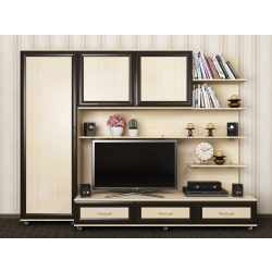 мебельная стенка со шкафчиком